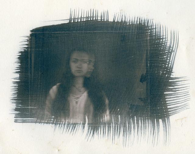 Juliet tea toned cyanotype