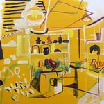 Oil on canvas 100 x 100cm 2014