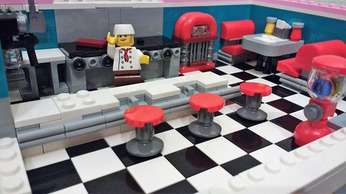 March 15: Welcome to Bob's Diner | by Snowhitie