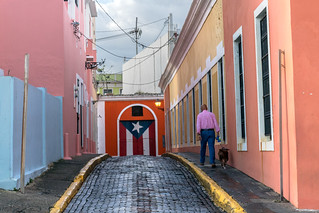 Cobblestone alley in Old San Juan, Puerto Rico | by Lorie Shaull