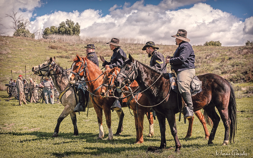 2018 Blue & Gray Civil War Reenactment, Moorpark 3 17 18 1