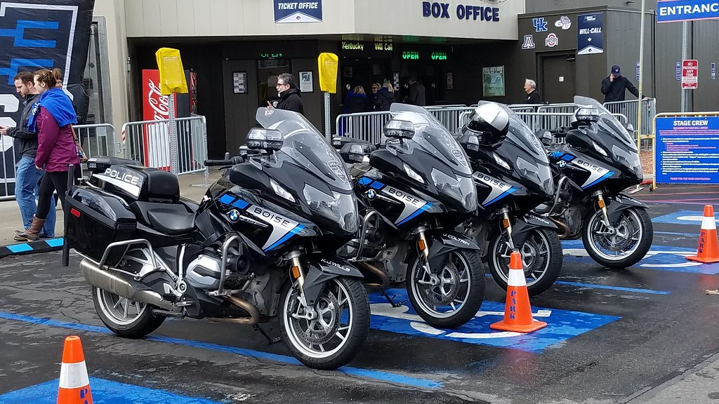 Boise Police Motor Squad | Boise, Idaho Police BMW Motorcycl