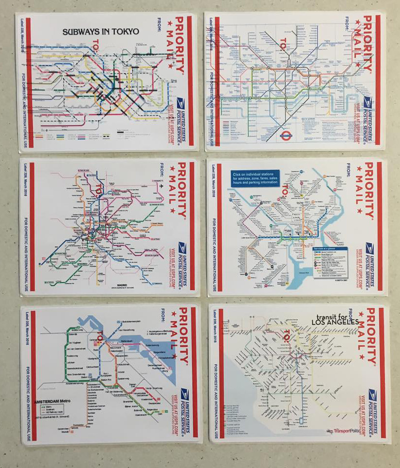 Subway Map Paper Products.Usps Subway Map Labels Usps Priority Mail Labels Subway Ma Flickr