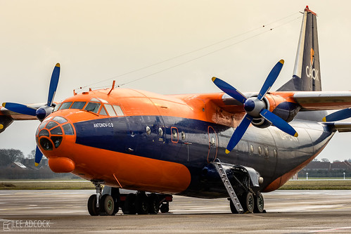 Cavok Air An-12B | by lee adcock