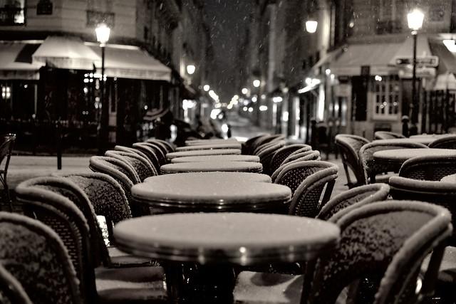 Café viennois, Paris.