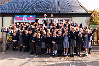 Ludwell primary's solar panels | by 1010 Climate Action