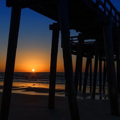 margatesunrise margate margatecity sunrise dawn jerseyshore newjersey fishingpier