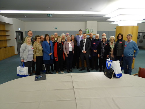 Welcoming constituents from Staffordshire to the European Parliament | by Daniel Dalton MEP