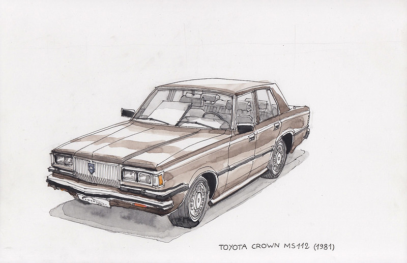 Toyota Crown MS 112 (1981)