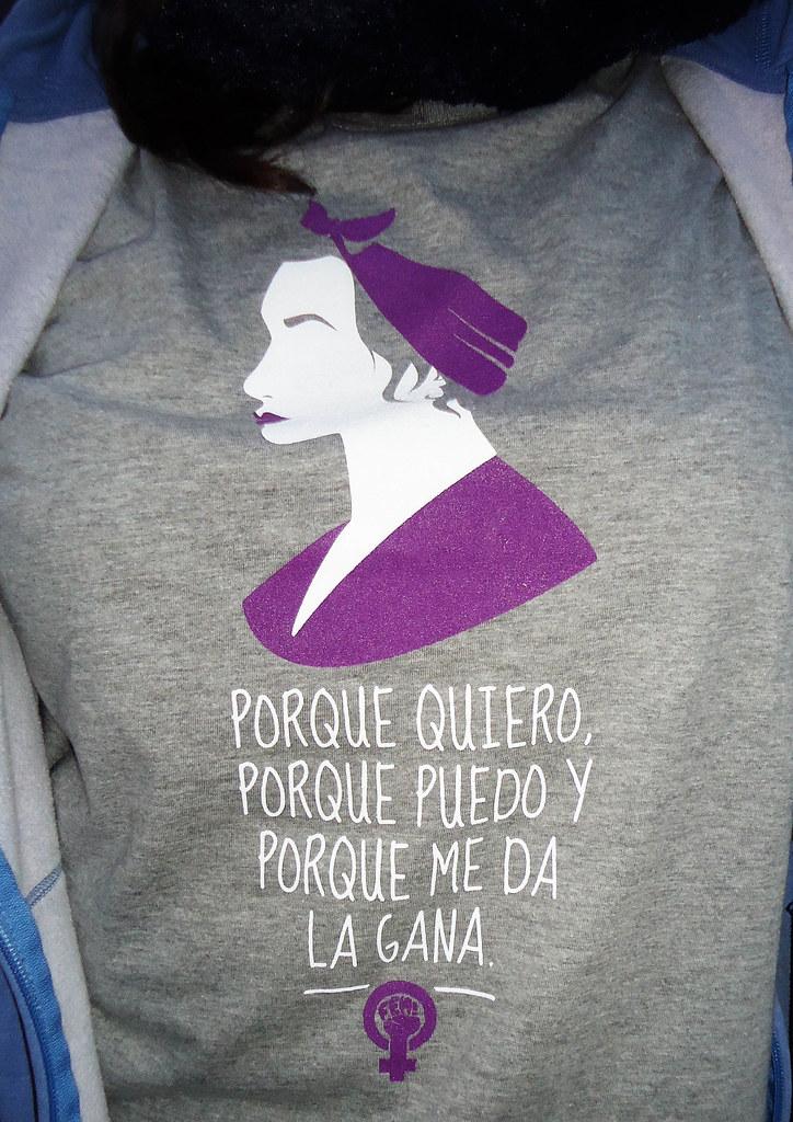2018 FeminismoFotos 8 Mani Camisetas Mujer De Marzo Santi yN0Omnw8Pv