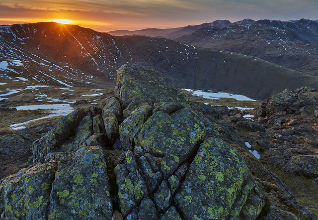 Sunset on Wetherlam