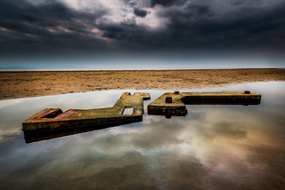 Mulberry Harbour blocks from WW2 | by Julia Martin Photography