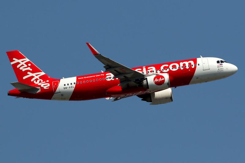 AirAsia | Airbus A320-200N | 9M-AGL | Hong Kong International