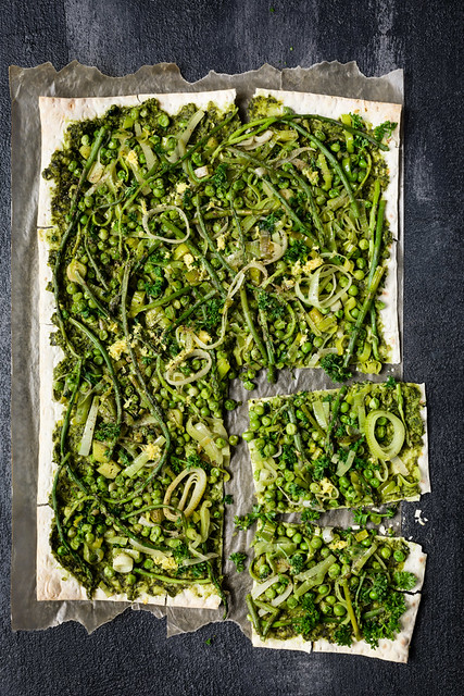 Green Flatbread