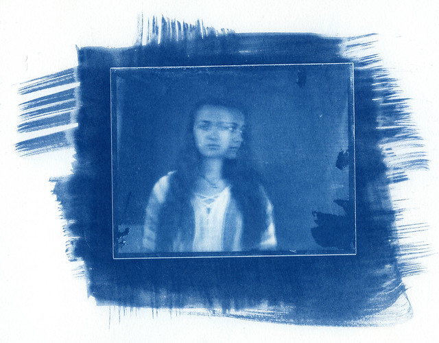 Juliet cyanotype