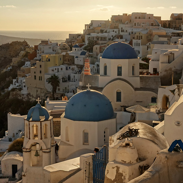 The famous church in Oia