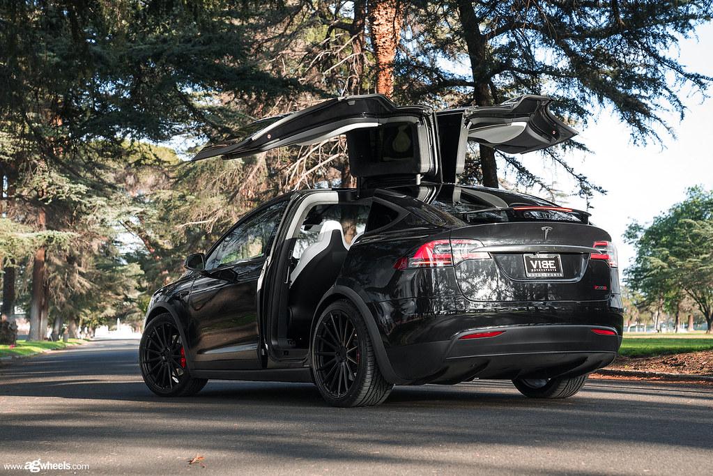 Tesla Model X Matte Black M615 Avant Garde Wheels Flickr