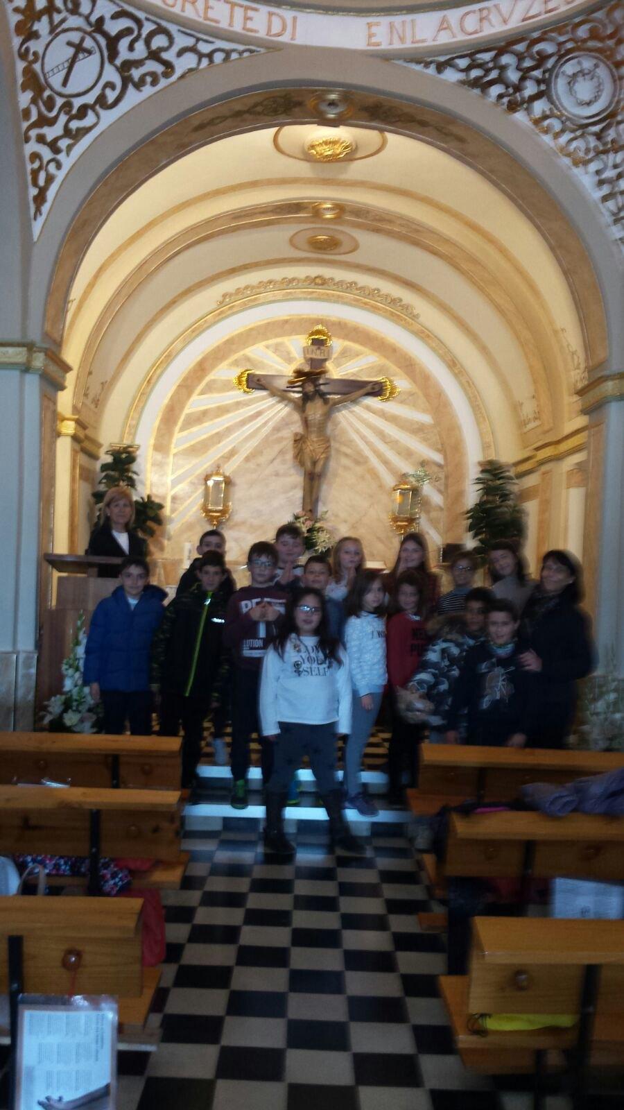 (2018-03-13) - Visita ermita alumnos Laura,3ºA, profesora religión Reina Sofia - Marzo -  María Isabel Berenguer Brotons (02)