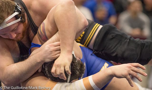 285 5th Place Match - Samuel Stoll (Iowa) 25-6 won by fall over Mike Hughes (Hofstra) 39-6 (Fall 1:57) - 180317cmk0051