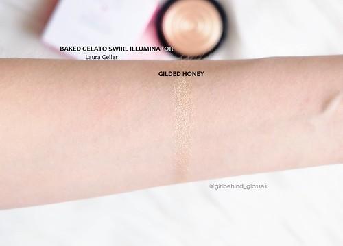 Laura Geller Baked Gelato Swirl Illuminator Gilded Honey swatch   by <Nikki P.>