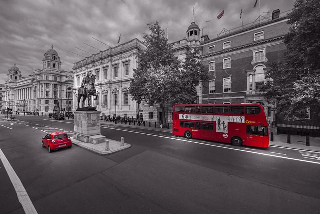 Whitehall - London City - England