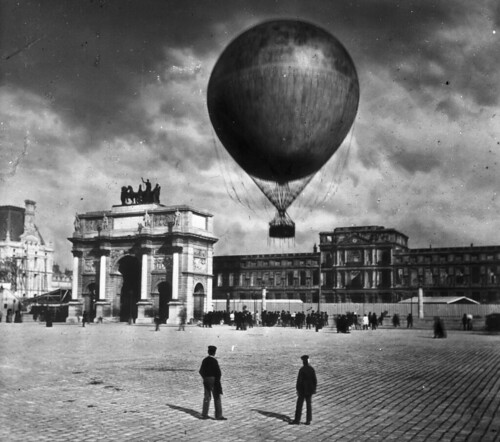Gifford's Manned Baloon, Paris Exposition, 1878 | by The Burton Holmes Archive