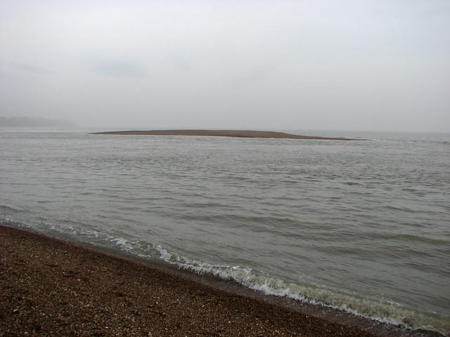The coast near Felixstowe Ferry