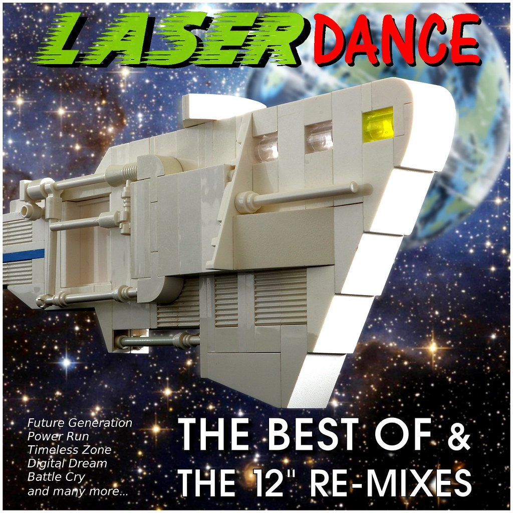 Laserdance (CD-Cover Art) | Laserdance - Space music from th… | Flickr