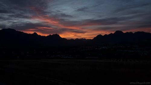 landscape stellenbosch sunrise