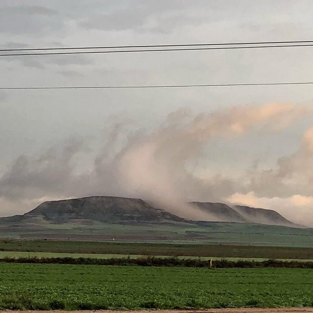 Monte Asland, desde las afueras de Mocejón. 9/3/18