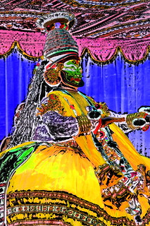 India - Kerala - Fort Kochi - Kathakali Dancer - 4dd | by asienman