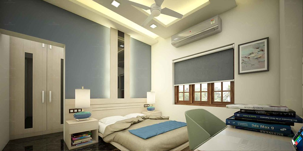 Youthful Bedroom Interior Decorators In Thrissur Monnaie Architects Flickr