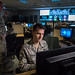 Tech. Sgt. Kyle Hanslovan, a cyber-warfare specialist serving with the 175th Cyberspace Operations Group of the Maryland Air National Guard, works in the Hunter's Den at Warfield Air National Guard Base, Middle River, Md., Dec. 2, 2017. Hanslovan served on active duty with the Air Force for six years and then worked, in civilian life, as a cyber-security contractor for the Department of Defense and now as the CEO of a cyber-security startup firm. His continuing desire to serve his country led him to the Air National Guard, where he believes his civilian experience in defensive cyber-security greatly benefits his mission readiness for offensive cyber operations with the U.S. Air Force. (U.S. Air Force photo by J.M. Eddins Jr.)