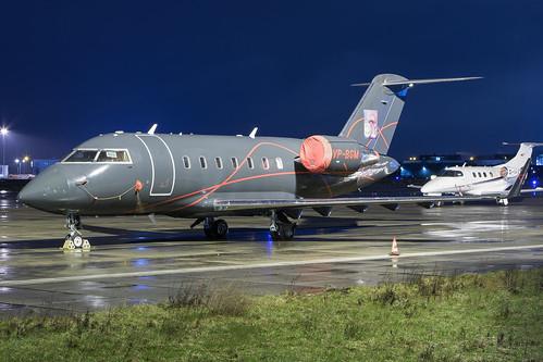Elit Avia - Bombardier CL-600-2B16 Challenger 605 - VP-BGM   by Jesse Vervoort