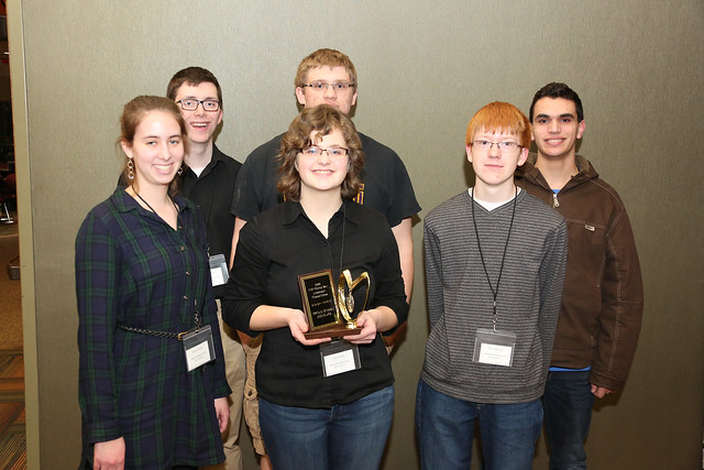 High School Academic Competition Winners