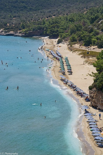 Beaches on Samos Island