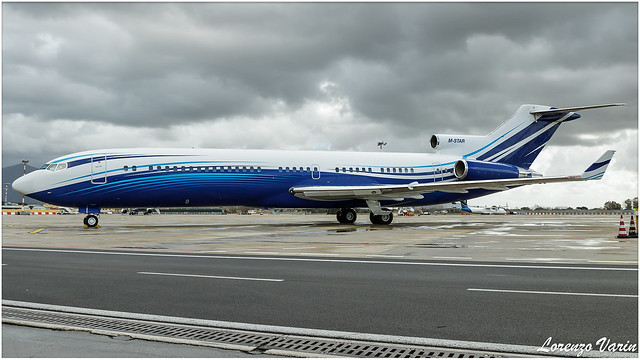 M-STAR Starling Aviation Boeing 727-2X8RE @ PSA/LIRP