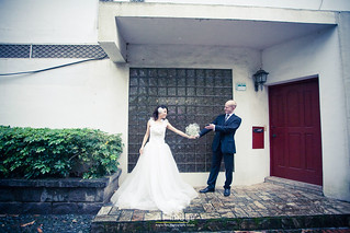 <婚紗> Alex & Minjie / 淡水 真理大學 | by angratien