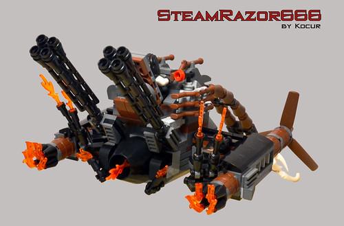 SteamRazor666 03 Back - Flying Position | by kocurvelox