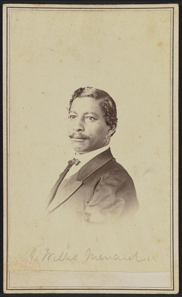[Portrait of John Willis Menard] (LOC)