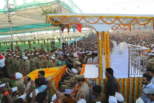 Procession towards Satsang Pandal