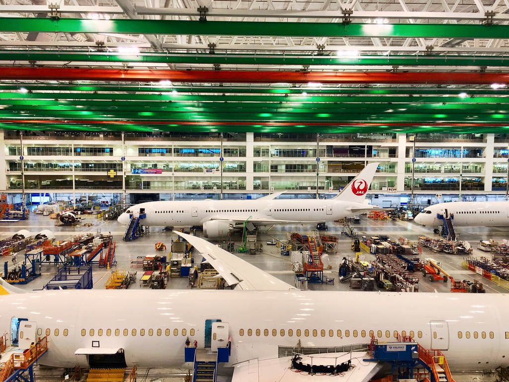 Boeing South Carolina assembly line