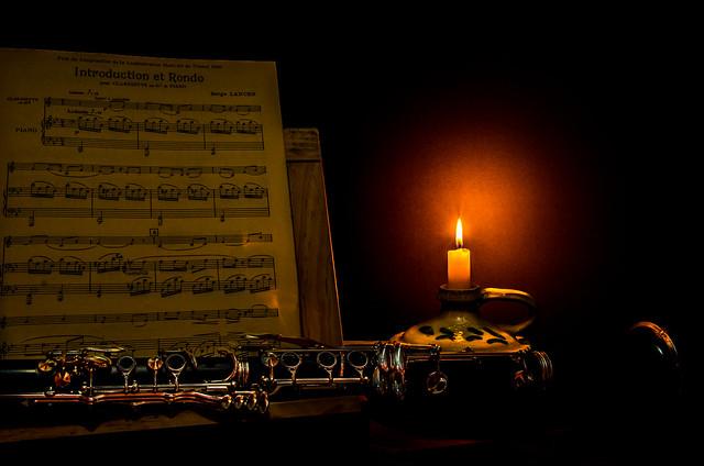 Composición para clarinete.