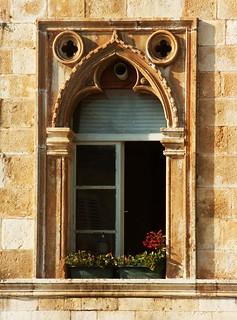 Gothic Window. Croatia. Free Stock Photo