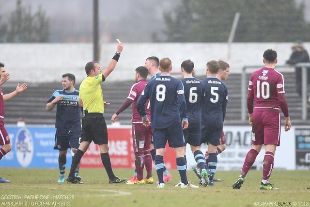 Arbroath 2 - 0 Forfar Athletic -