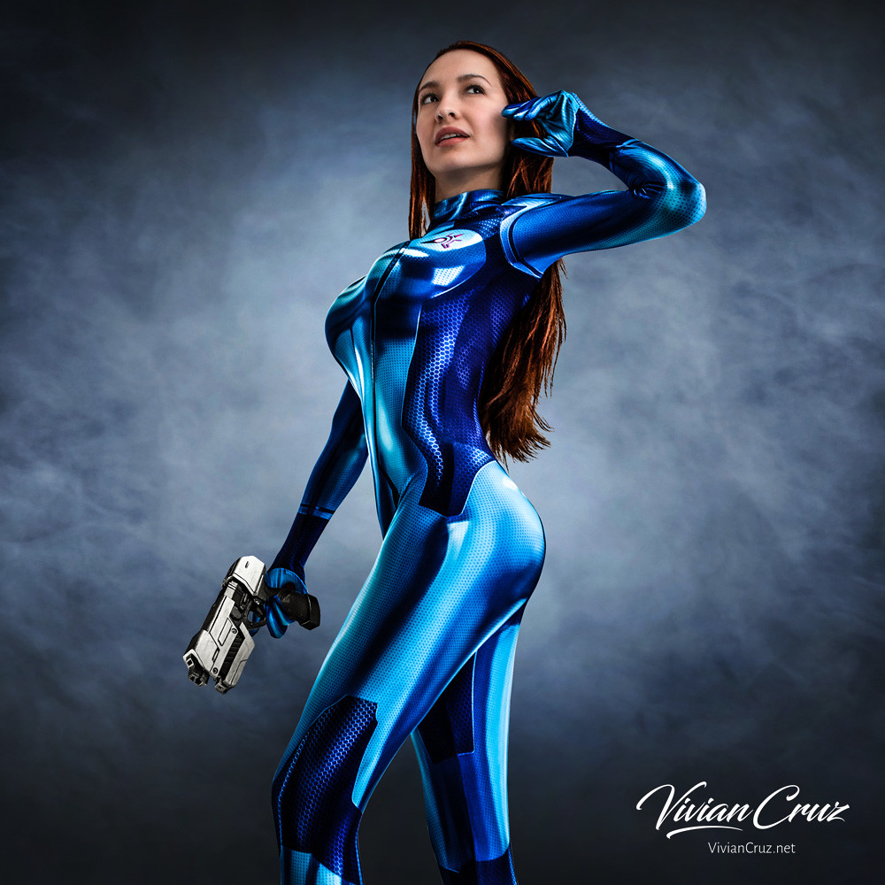 Samus Aran Zero Suit Costume Vivian Cruz Flickr