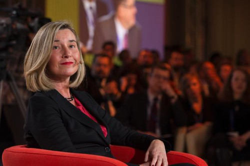 Visit by Federica Mogherini, Vice-President of the EC, to