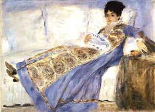 Renoir_ Madame_Monet_Reading_Le_Figaro | by At Sunnyside