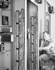 Wiring systems at Boundary Dam, 1967