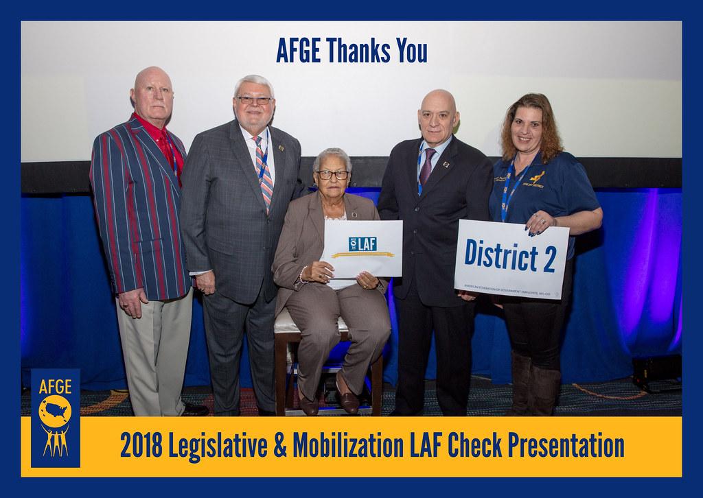 AFGE LAF and PAC Award Presentations | AFGE Local 1917 prese